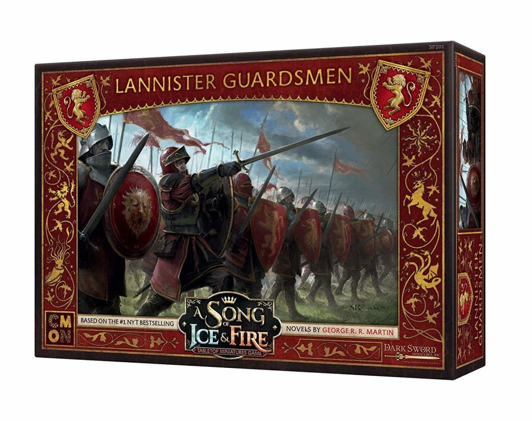 A Song of Ice and Fire Lannister Guardsmen XKFZ37HB5JYFG