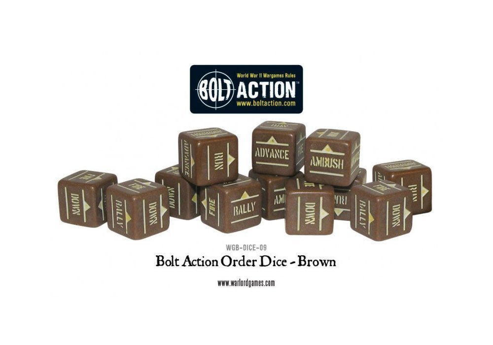 Order Dice Brown