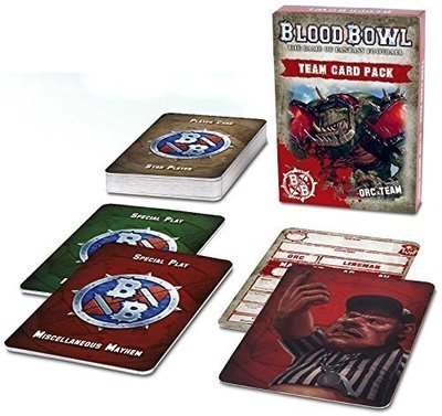 Blood Bowl: Orc Team Card Pack