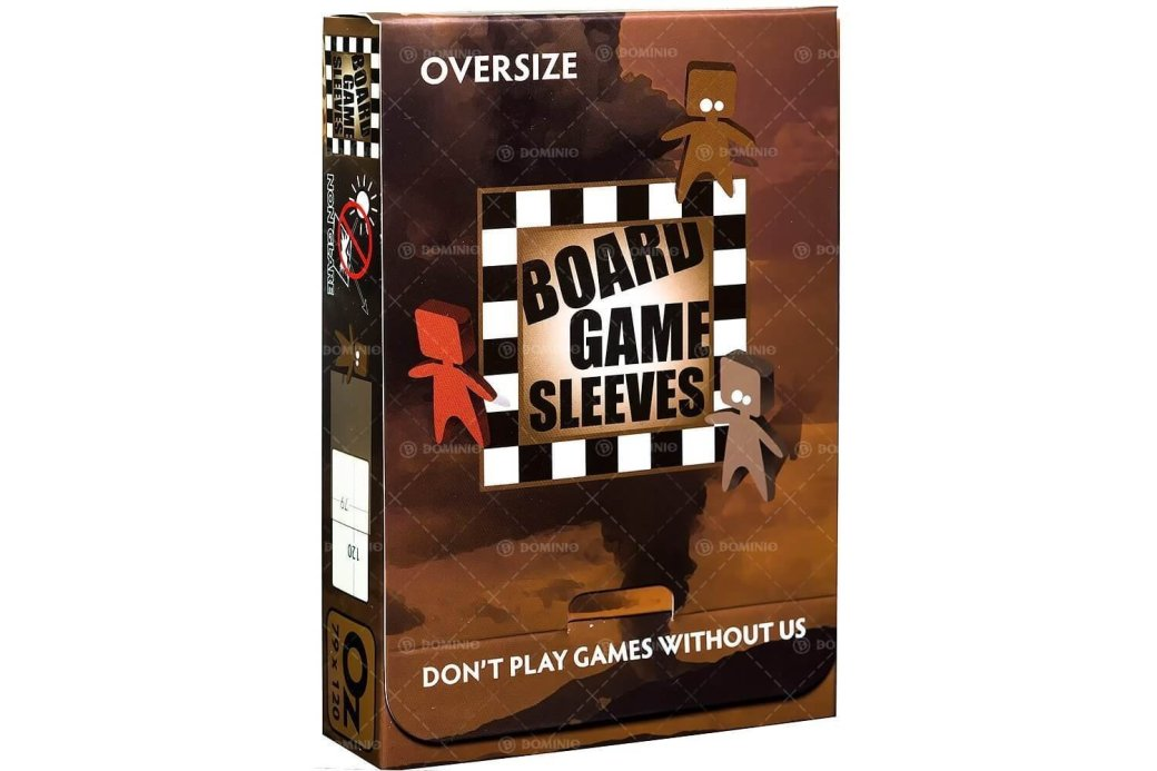 Board Game Sleeves: Non-Glare - Oversize (50ct)