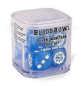 Blood Bowl: Elven Union Dice