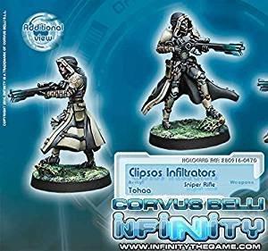 Infinity: Tohaa Clipsos Unit (Sniper)