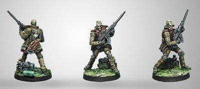 Infinity: Mercs Armand `Le Muet`, Freelance Killer (MULTI Sniper Rifle)