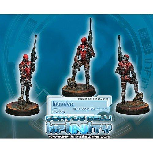 Infinity: Nomads Intruder, Corregidor Assault Commando (MULTI Sniper)