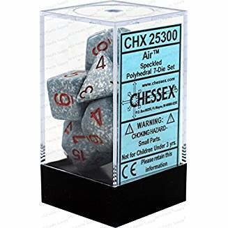 Chessex Speckled Air Polyhedral 7 Dice Set CHX25300