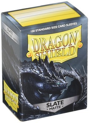 Dragon Shield Sleeves Matte Slate