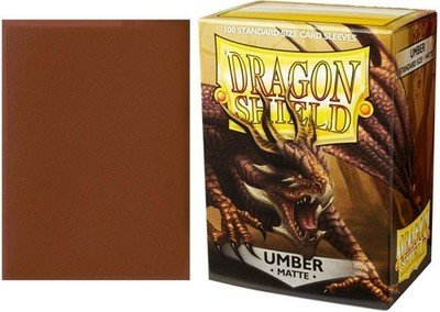Dragon Shield Sleeves Matte Umber