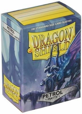 Dragon Shield Sleeves Matte Petrol