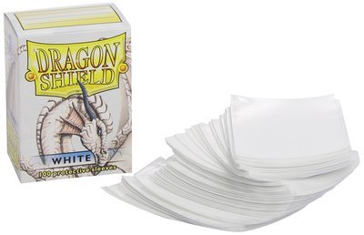 Dragon Shield Sleeves White