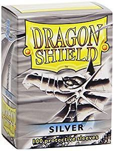 Dragon Shield Sleeves Silver