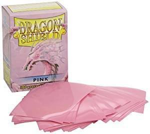 Dragon Shield Sleeves Pink