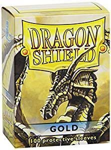 Dragon Shield Sleeves Gold