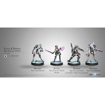 Infinity: ALEPH Drakios & Scylla, Steel Phalanx`s NCO