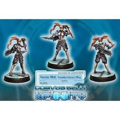 Infinity: ALEPH Nesaie Alk, Thorakitai Warrant Officer (Spitfire)