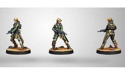 Infinity: Ariadna 6th Airborne Ranger Reg. (Submachine gun)