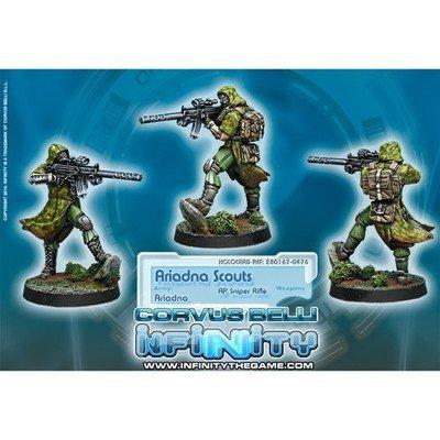 Infinity: Ariadna Ariadna Scouts (AP Sniper)