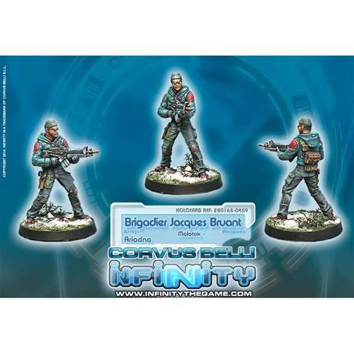 Infinity: Ariadna Brigadier Jacques Bruant, Sous-officier des Metros (Molotok) 4G8QNSZW15FFR