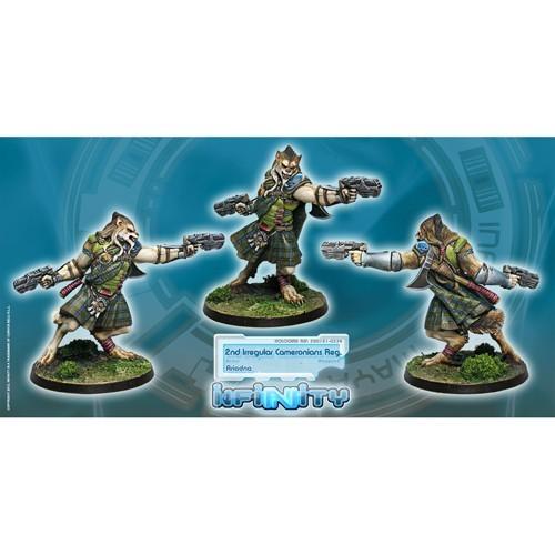 Infinity: Ariadna Cameronians (Chain Rifle, AP CCW) SWJVKFFZCMY98