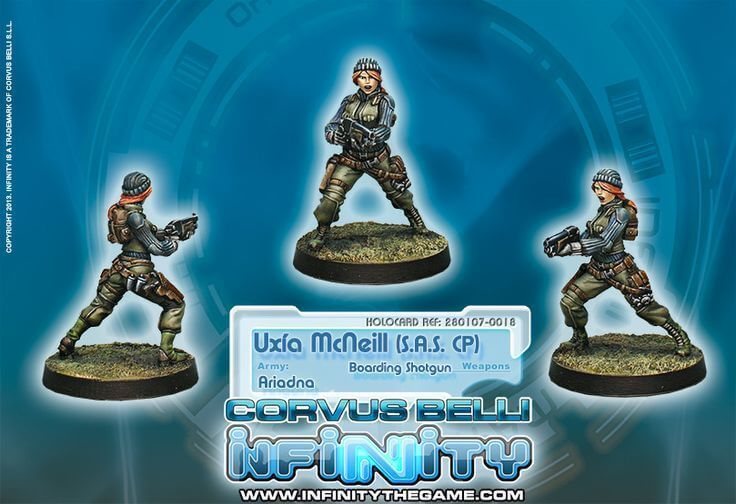 Infinity: Ariadna `Cherry` McNeill Corporal of 1st Highlanders S.A.S. (Boarding Shotgun) BTM1QXHES1672