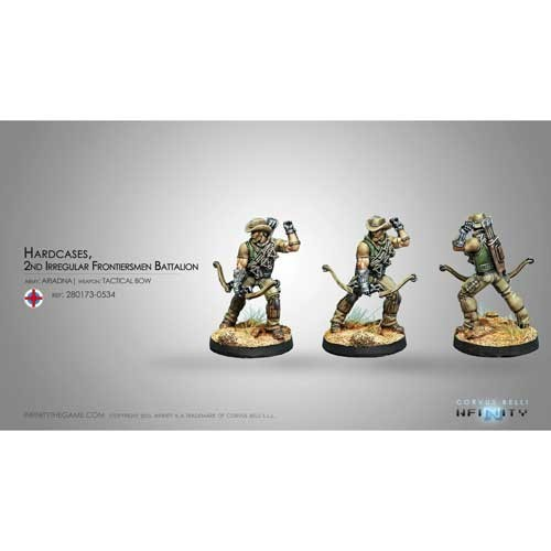 Infinity: Ariadna Hardcases, 2nd Irregular Frontiersmen Battalion (Tactical Bow) FJZ8VM6GTFFPT