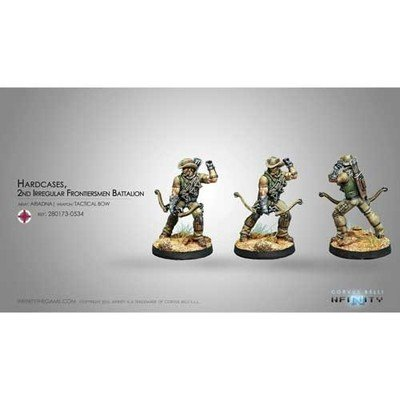 Infinity: Ariadna Hardcases, 2nd Irregular Frontiersmen Battalion (Tactical Bow)