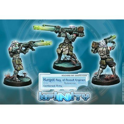 Infinity: Combined Army Kurgat, Reg. of Assault Engineers (Autocannon)