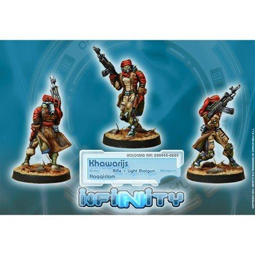 Infinity: Haqqislam Khawarijs (Rifle + Light Shotgun)