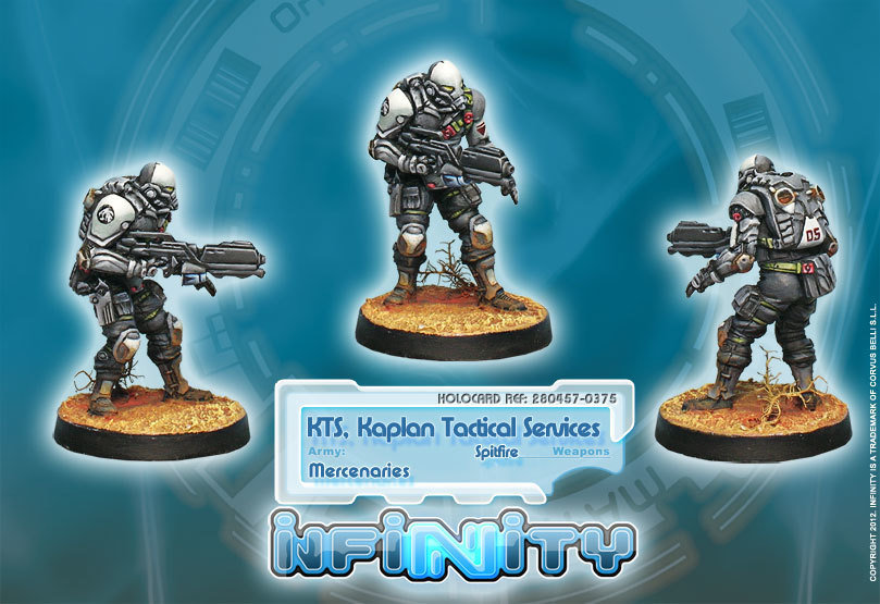 Infinity: Haqqislam KTS, Kaplan Tactical Services (Spitfire)