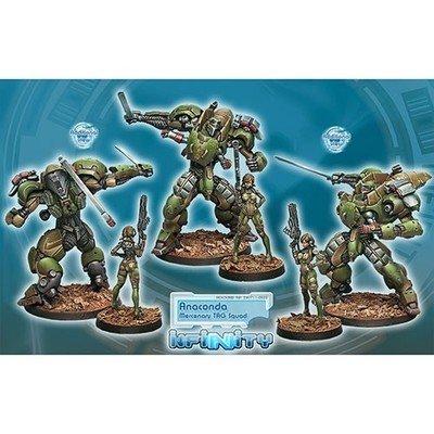 Infinity: Mercenaries Anaconda, Mercenary TAG Squadron