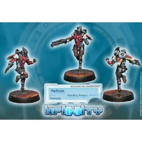Infinity: Nomads Hellcats (Boarding Shotgun)