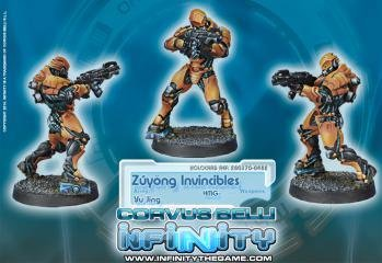 Infinity: Yu Jing Zyng Invincibles Terra-cotta Soldiers
