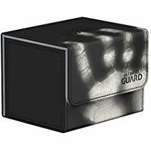 Ultimate Guard: Sidewinder ChromiaSkin Deckbox 100+: Black