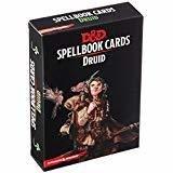 Dungeons & Dragons Spellbook Cards Druid