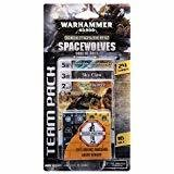 Warhammer 40000 Dice Masters Space Wolves Sons Of  Russ Team Pack