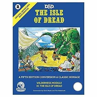 D&D 5E Original Adv #2 The Isle Of Dread