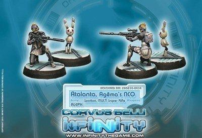 Infinity: ALEPH Atalanta Agma`s NCO & Spotbot