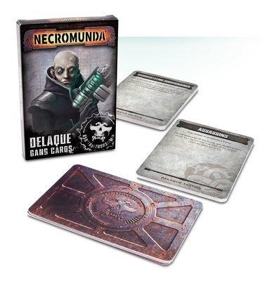 NECROMUNDA: DELAQUE GANG CARDS (ENG)