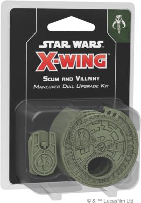 X-wing 2.0 Scum Maneuver Dail