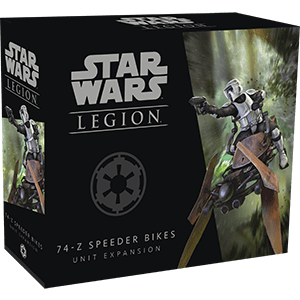 Star Wars Legion 74-Z Speeder Bikes Unit Expansion SWL06