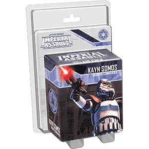 Star Wars Imperial Assault Kayn Somos