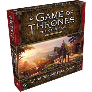 A Game of Thrones the Card Game: Lions Of Casterly Rock