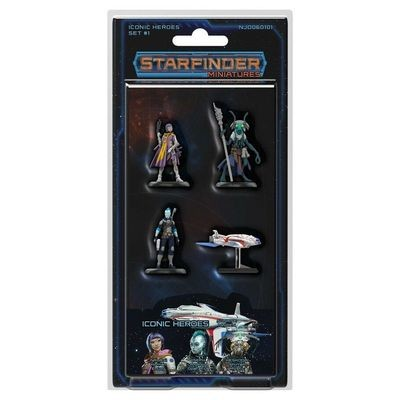 Starfinder Iconic Heroes Set 1