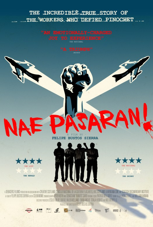 Nae Pasaran DVD and Signed A3 Poster (June) 00002
