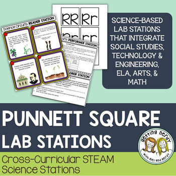 Punnett Squares - Science Centers / Lab Stations