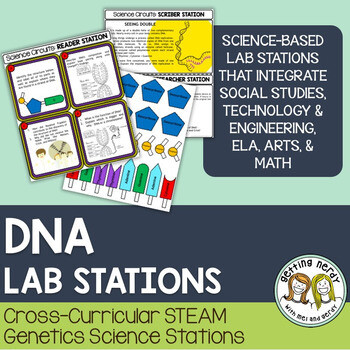 DNA - Genetics - Science Centers / Lab Stations