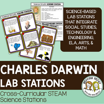 Darwin, Finches, Galapagos Islands - Evolution - Science Centers / Lab Stations