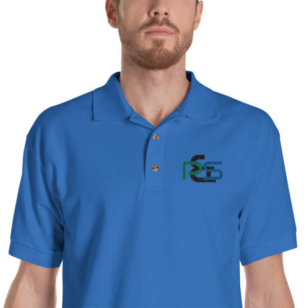 P&S Logo Embroidered Polo Shirt