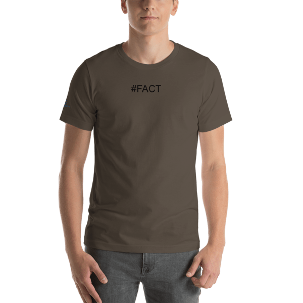 Hashtag FACT Short-Sleeve Unisex T-Shirt 00012