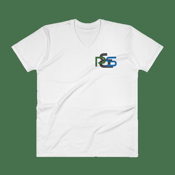 P&S Logo V-Neck T-Shirt 00020