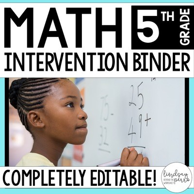 5th Grade Math Intervention Program